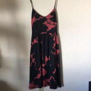 The Loft Floral Midi Dress